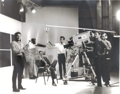 Image Caption: A 1967, black and white, archive photograph of a TTT production. Photographer unknown.—Click to read this article.