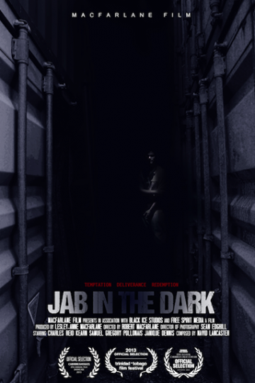 Image Caption: Featured image for 'Jab in the Dark'.—Click to read this profile.