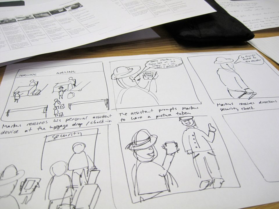 Image Caption: A storyboard. Photograph by Visualpun.ch via flickr.com. Used through a Creative Commons licence.