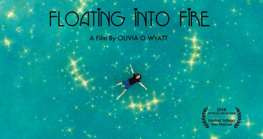 Image Caption: Featured image for 'Floating into Fire'.